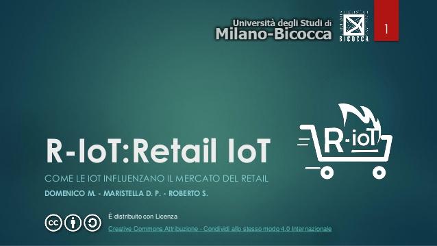 R-IoT: l'evoluzione del Retail attraverso l'Internet delle Cose