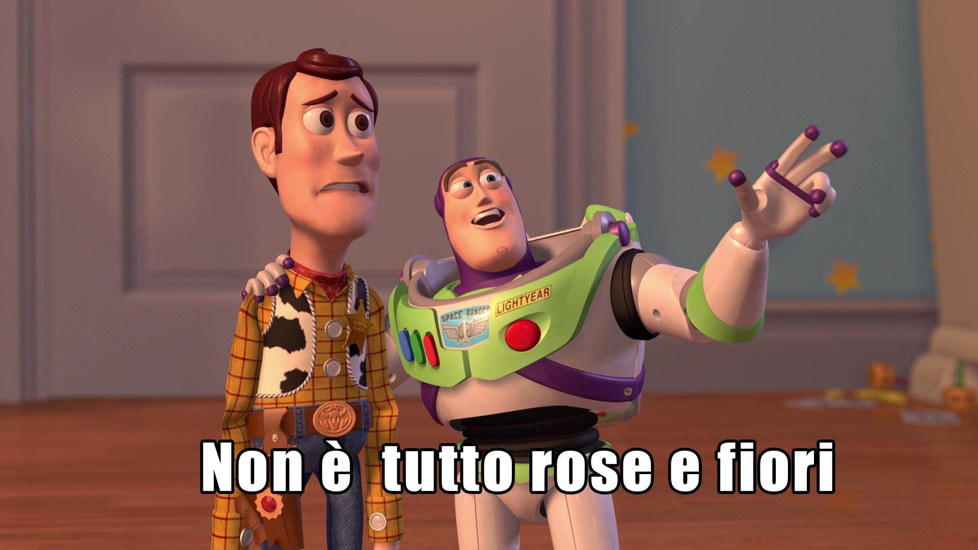 """Come si traduce """"Non è tutto rose è fiori"""" in inglese?"""