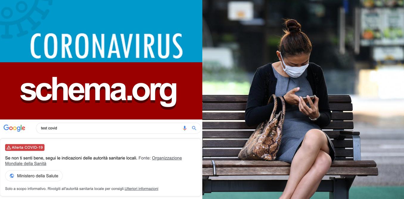 La pandemia COVID sta cambiando lo Schema.org ed il Web