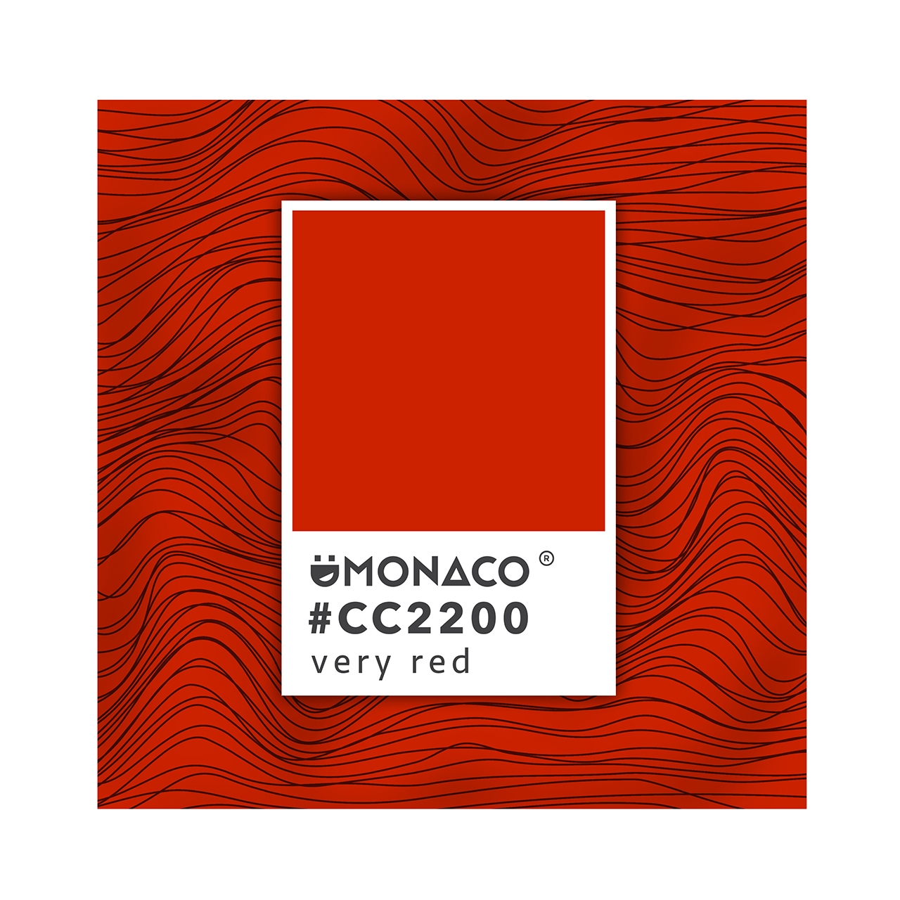 DMONACO PANTONE Very Red