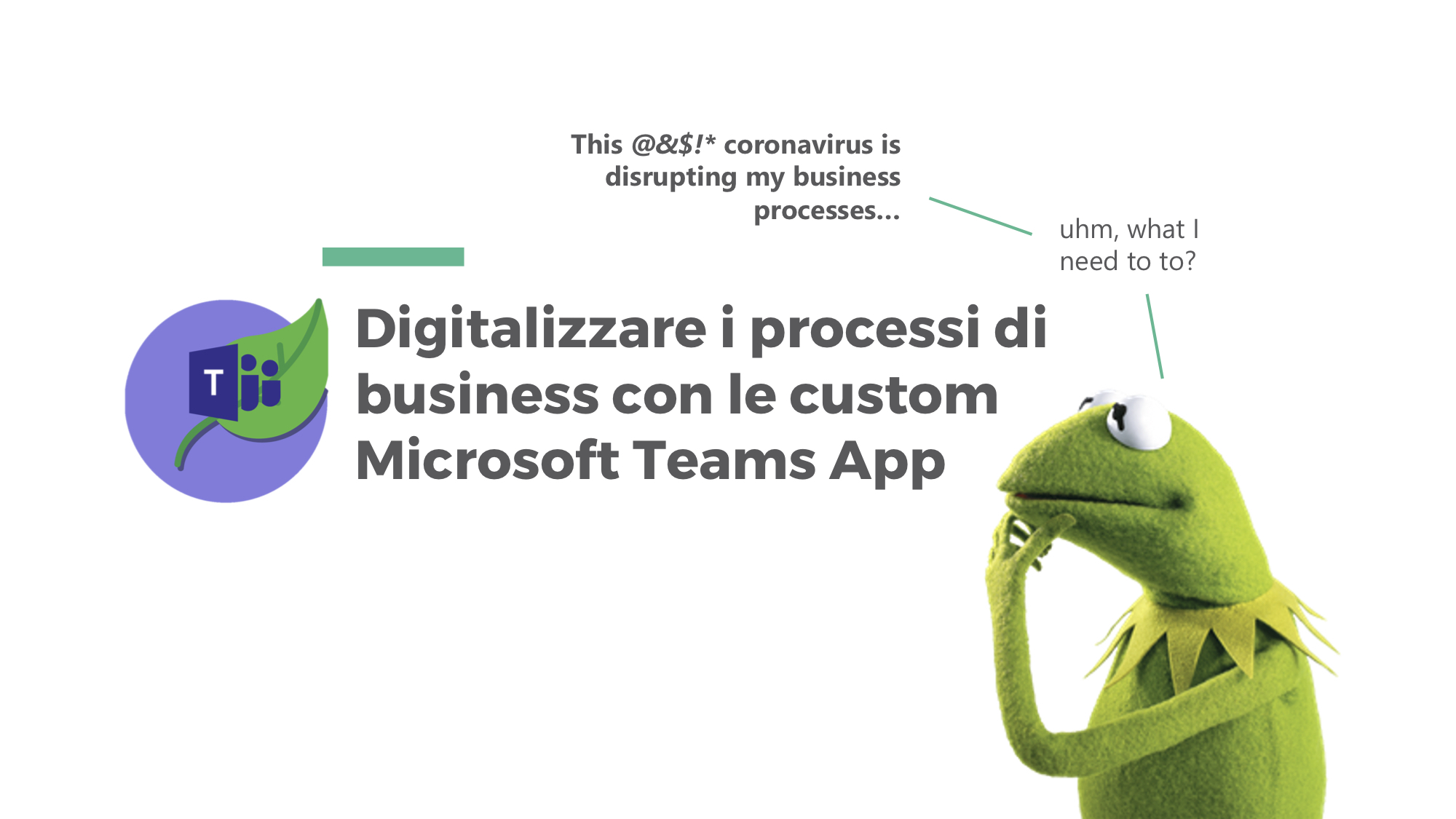 Digitalizzare i processi di business con le custom Microsoft Teams App