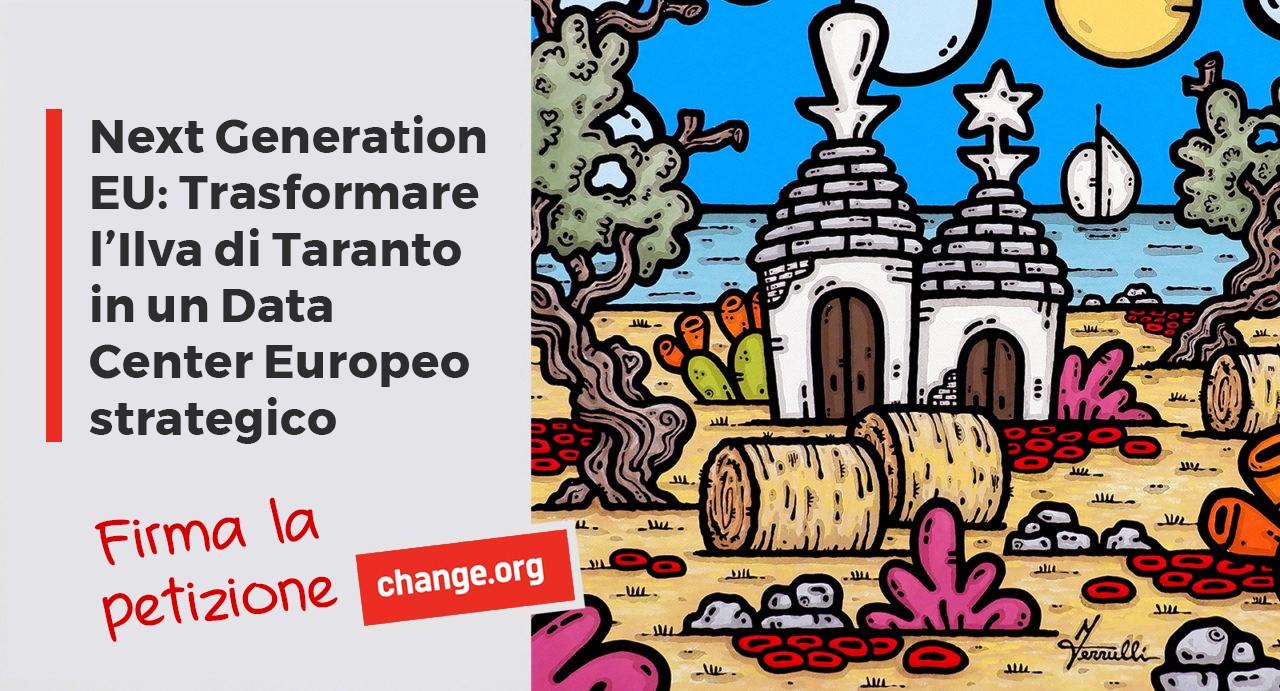 Next Generation EU: convertire l'Ilva di Taranto in un Data Center Europeo strategico
